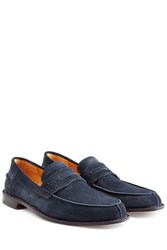 Ludwig Reiter Suede Loafers Blue