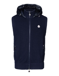Moncler Sweater Vest Blue