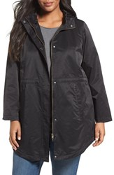 Eileen Fisher Plus Size Women's Organic Cotton And Nylon Hooded Jacket