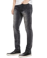 Kenneth Cole New York Black Wash Slim Fit Jeans