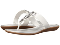 Bandolino Jesane White Synthetic Women's Sandals