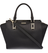 Hugo Boss Leather Tote Black