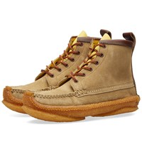 Yuketen 6 Eye Hunt Boot Neutrals