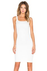 Rise Sleepless Midi Dress White