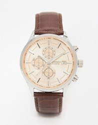 Sekonda Brown Leather Watch 1105 Brown