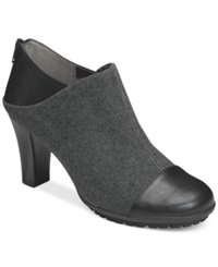 Aerosoles Commentary Booties Women's Shoes Black Fabric