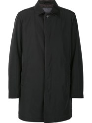 Pal Zileri Single Breasted Coat Black