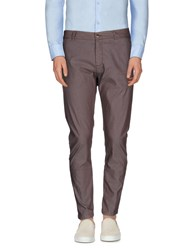 One Seven Two Trousers Casual Trousers Men Cocoa
