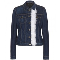Burberry Embellished Denim Jacket