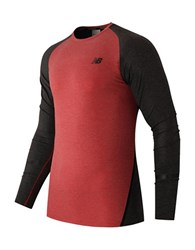 New Balance Trinamic Compression Top Red