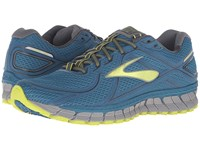 Brooks Adrenaline Asr 13 Moroccan Blue Lime Punch Anthracite Men's Running Shoes