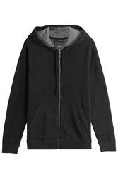 Vince Cashmere Hoody Black