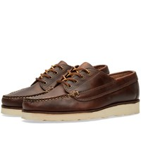 Oak Street Bootmakers Vibram Sole Trail Oxford Brown
