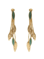 Aurelie Bidermann 'Malibu' Earring Green