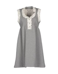 Heimstone Short Dresses Light Grey
