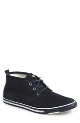 Armani Jeans Suede Desert Boot Men Night Sky