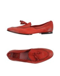 Raparo Footwear Moccasins Men Red