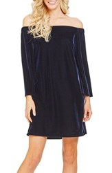 Donna Morgan Women's Stretch Velvet Shift Dress