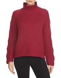 1.State Turtleneck Raglan Top Berry Rush