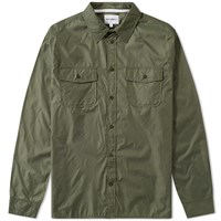 Norse Projects Hans Light Ripstop Shirt Green