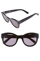 Women's Bobbi Brown 'The Zoe S' 49Mm Sunglasses Black