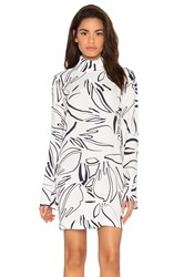 Viktoria Woods Ultra Bell Sleeve Mini Dress White