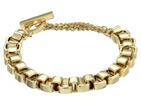 French Connection Medium Box Chain Bracelet Gold Bracelet