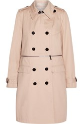 Rebecca Minkoff Melissa Convertible Cotton Canvas Trench Coat Pink