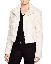 Karen Kane Cropped Faux Fur Jacket