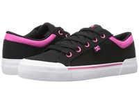 Dc Danni Tx Black Fuchsia Women's Skate Shoes