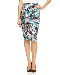 French Connection Fast Calliope Pencil Skirt Compare At 98 Black White