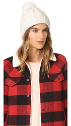 Eugenia Kim Andrea Pom Beanie Winter White