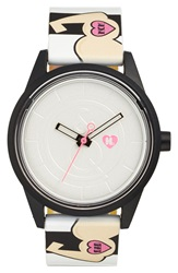 Harajuku Lovers Resin Solar Watch 40Mm Limited Edition Love Strong