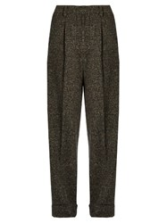 Trademark Donegal Tweed Trousers Grey Multi