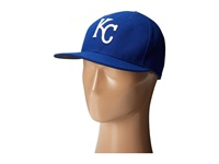 New Era Authentic Collection 59Fifty Kansas City Royals Home Road Baseball Caps Navy