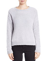 Lord And Taylor Boxy Chenille Pullover Skyway