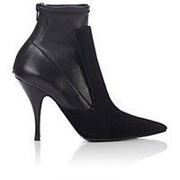 Givenchy Women's Back Zip Ankle Boots Black