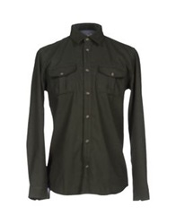 Suit Shirts Military Green