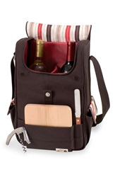 Picnic Time 'Volare' Wine And Cheese Tote Brown