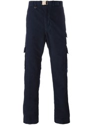 Missoni Straight Cargo Trousers Blue