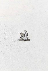 Urban Outfitters Uo Crying Dove Pin White