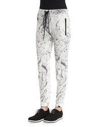 Koral Activewear Loft Printed Sport Jogger Sweatpants Ink