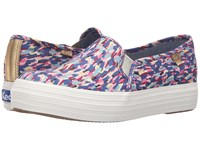 Keds Triple Decker Liberty Meadow Pink Multi Women's Slip On Shoes