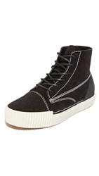 Alexander Wang Perry High Top Sneakers Black