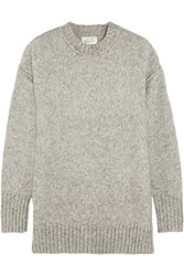 R 13 R13 Oversized Knitted Sweater Charcoal