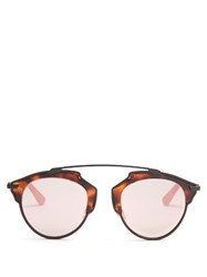 Christian Dior So Real Sunglasses Tortoiseshell
