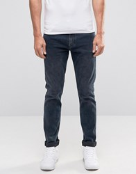 Weekday Friday Skinny Jeans Space Indigo Acid Space 79 101 Blue
