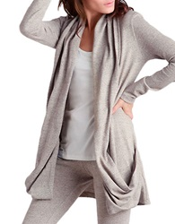 Ugg Draped Open Front Cardigan Natural