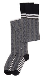 Stance Over The Knee Fine Line Socks Black
