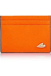 Diane Von Furstenberg Love Tuxedo Textured Leather Cardholder